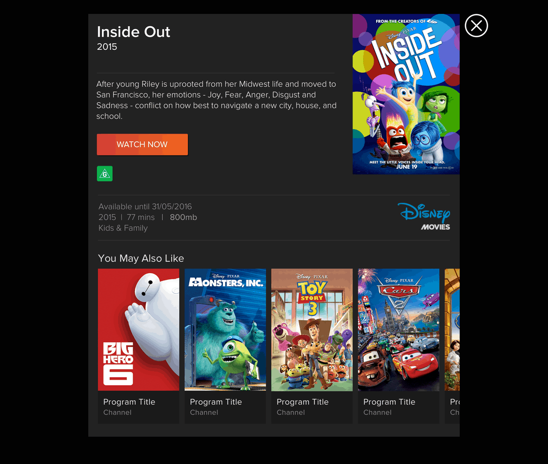 Inside Out Movie Synopsis Screen