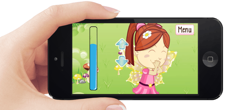 Mary The Fairy Mobile App Game Screen